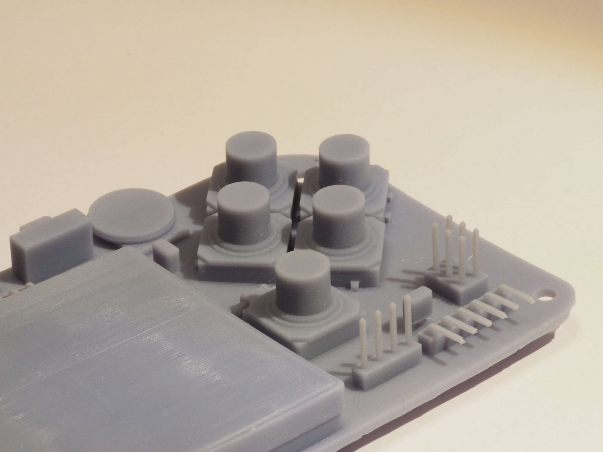 SLA 3D Print of Gamebuino STEP Model