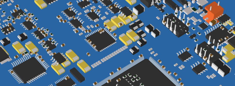ZofzPCB 3D Components View