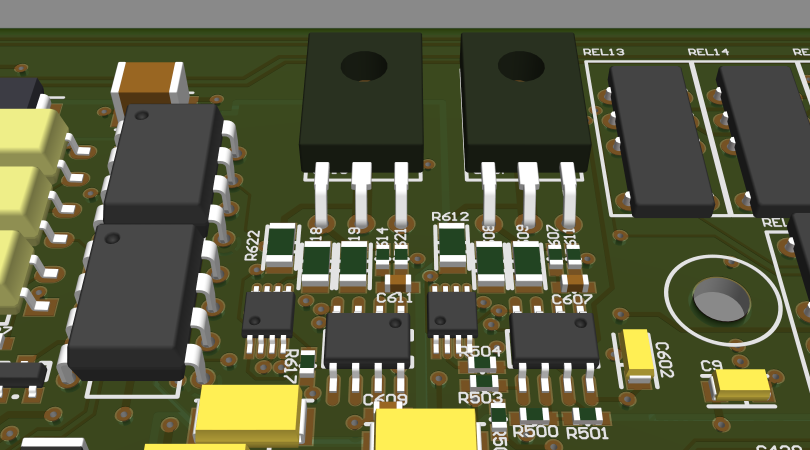 IPC-356 components in parametric mode