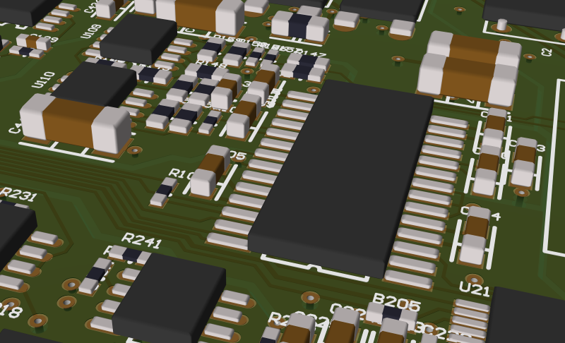 PCB View - different rendering options 1